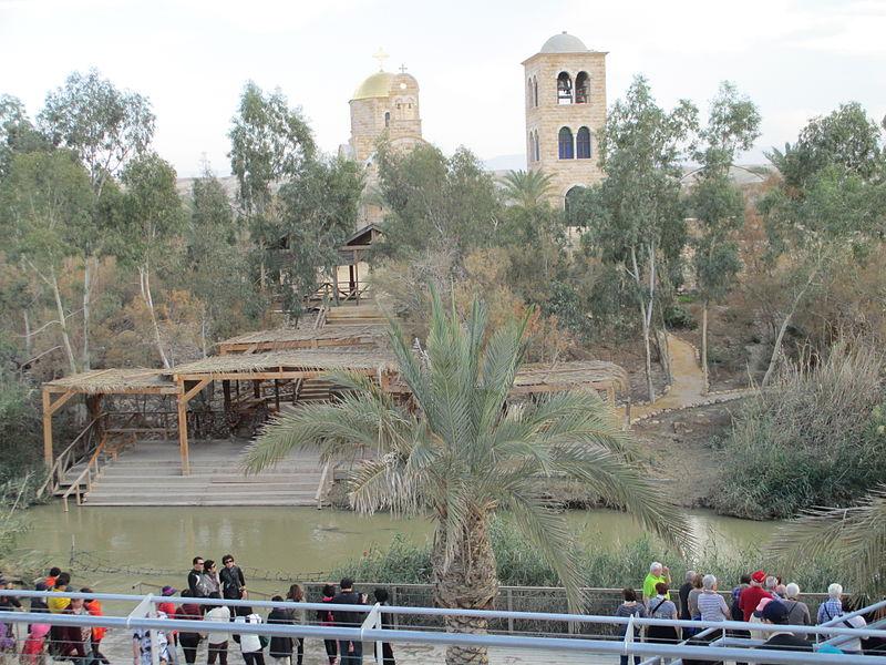 אתר הטבילה בנהר הירדן-קאסר אל יהוד