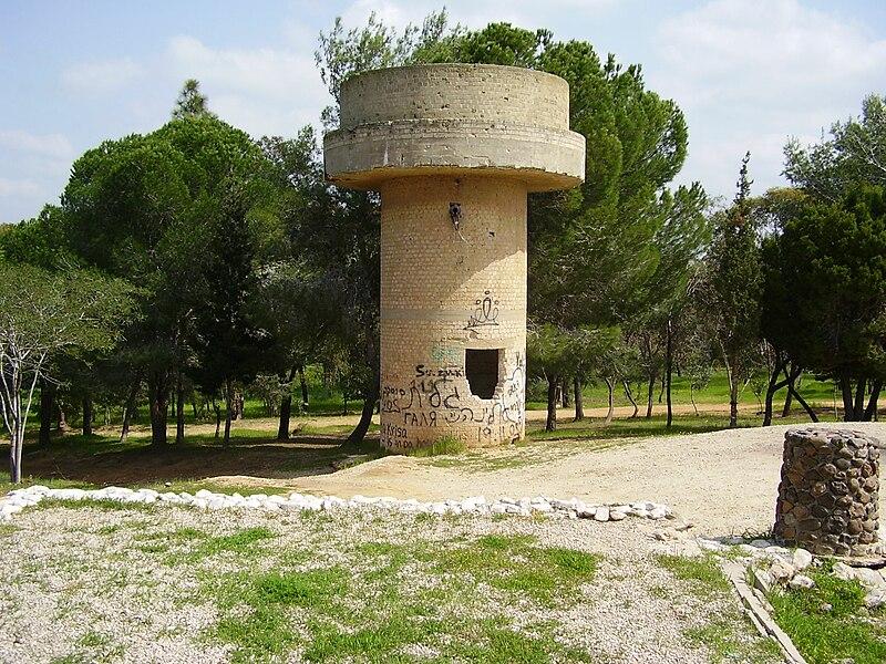 מגדל מים בגבעה 69