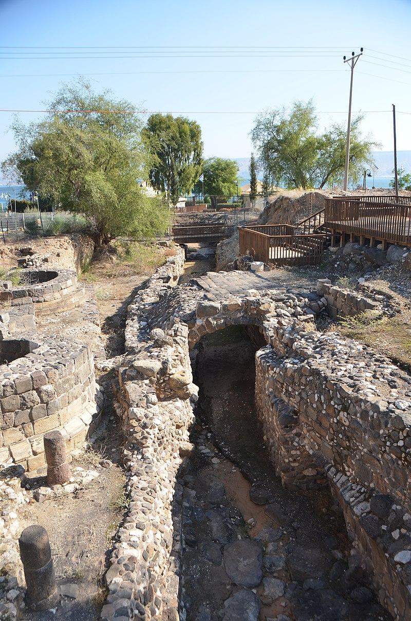 שער העיר טבריה הרומית
