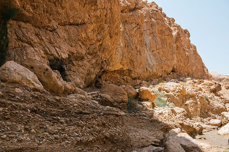 צוקים וסלעים במדבר