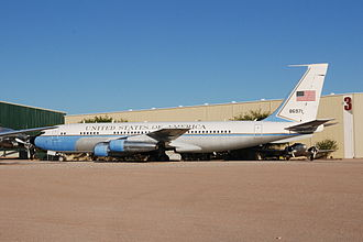 Boeing C-137 Stratoliner - 58-6971 on display