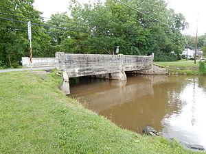 Deer Lake, Pennsylvania - Image: Pine Creek Bridge, Deer Lake PA