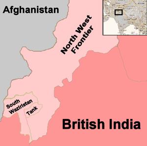 Pink's War - Image: Pink's War map
