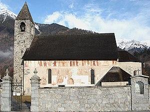 Pinzolo - San vigilio church