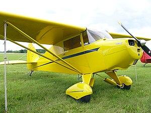 Piper PA-15 Vagabond - Image: Piper PA 17Vagabond N4612H01