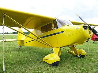 Piper PA-15 Vagabond 1940s American light aircraft