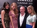 Pirelli Calendar 2013, Summer Rayne Oakes, Petra Němcová, Stuart Chapman, Kyleigh Kuhn.jpg
