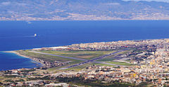 View on Reggio Calabria Airport
