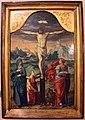 Pittore olandese, crocifissione, 1580 ca..JPG