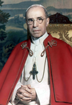 Pius XII with tabard, by Michael Pitcairn, 1951.png