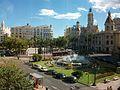 Plaça de l'Ajuntament de València, País Valencià.JPG