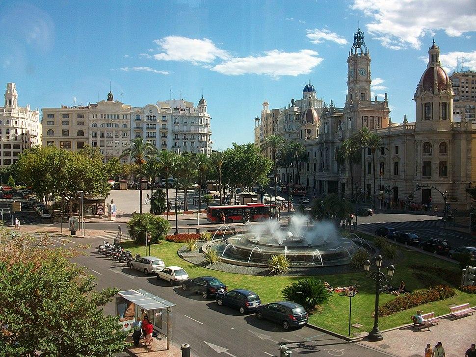 Plaça de l'Ajuntament de València, País Valencià
