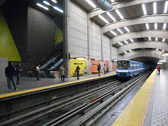 Le Sud-Ouest - Place-Saint-Henri metro station.