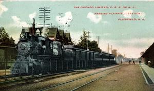 Plainfield station - Plainfield Station, ca. 1910