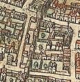 Plan de Paris vers 1530 Braun eglise des Blancs-Manteaux.jpg