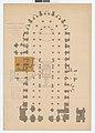 Plan de la cathedrale Bourges 1893 Archives nationales France.jpg