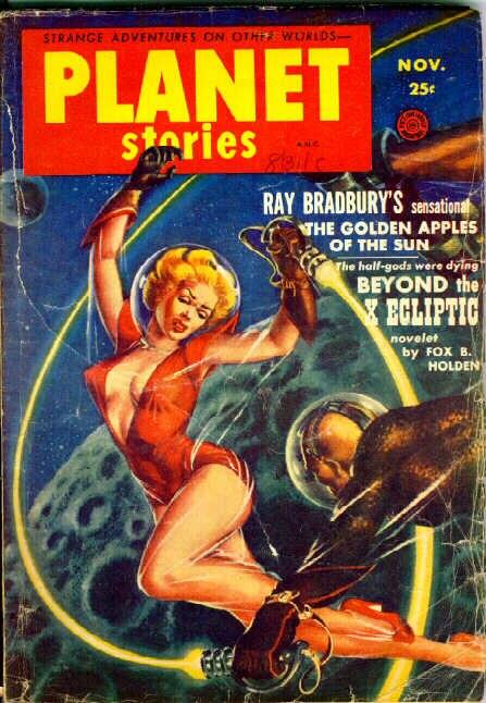Planet Stories November 1953 cover