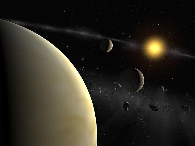 Интерферометр MIDI помог астрономам заглянуть в другие миры