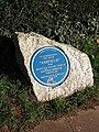 Plaque, Barton Road - geograph.org.uk - 674119.jpg