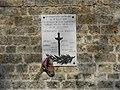 Plaque Vincennes Fort Neuf combattants volontaires.JPG