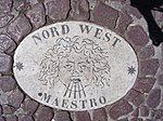 Plaque on Saint Peter's Square - Nord West.jpg