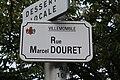 Plaque rue Douret Villemomble 3.jpg