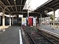 Platform of Ebisucho Station (Hankai Line) 2.jpg