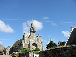 Plouharnel - The Chapel of Our Lady of Flowers, in Plouharnel
