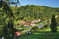 Pohled na obec od západu, Maleny, Stražisko, okres Prostějov (výřez).jpg