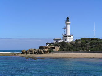 Point Lonsdale Lighthouse - View from the north-east