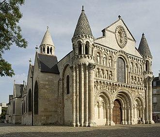Vienne - Image: Poitiers, Église Notre Dame la Grande PM 31852