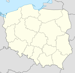 Przybyszów, Greater Poland Voivodeship is located in Poland