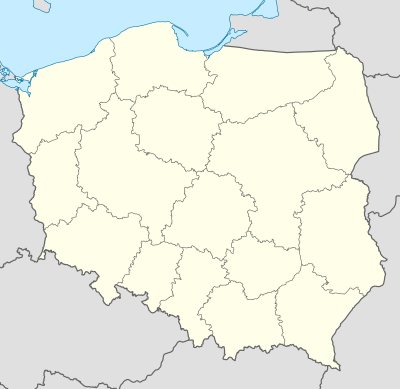 2007–08 Ekstraklasa is located in Poland