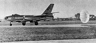 Ilyushin Il-28 - Landing of Polish IL-28, 1959