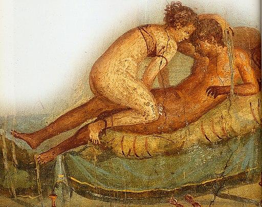 Pompeii - Casa del Centenario - Love scene