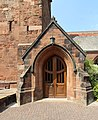 Porch of St Peter's church, Heswall.jpg