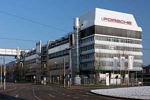 Porsche headquarters Stuttgart 2013 March.jpg