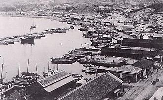 Chongjin - Image: Port of Seishin