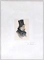 Portrait of Edgar Degas in profile Met DP887402.jpg