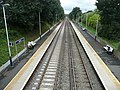 Portsmouth Direct Line towards the southwest from Liphook Railway Station, Hampshire, England 7.jpg