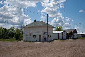 Selfridge, North Dakota - U.S. Post office in Selfridge