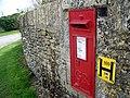 Postbox, Westrop - geograph.org.uk - 1882850.jpg