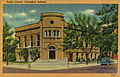 Postcard of Carnegie Public Library in Columbus, Indiana.jpg