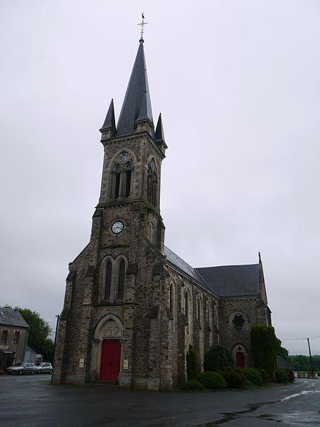 L'église Saint-Julien.