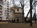 Prague, Letňany, Zvonička svatého Kříže 1.JPG