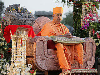 Hindu spiritual leader from India