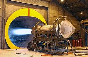 Pratt & Whitney F119 - F119 engine on test
