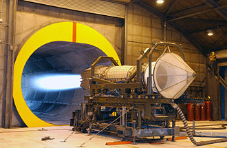 Turbofan - Pratt & Whitney F119 afterburning turbofan on test