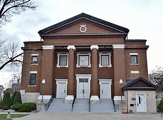 National Register of Historic Places listings in Benton County, Iowa - Image: Presbyterian Church of Vinton