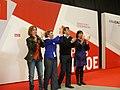 Presentación de la candidatura de Aina Calvo a alcaldesa de Palma (2011).jpg
